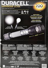 duracell durabeam ultra 700 heavy duty led flashlight 2 pack