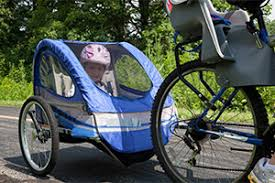 siege pour remorque velo à vélo avec un enfant conseils pour rouler en toute sécurité