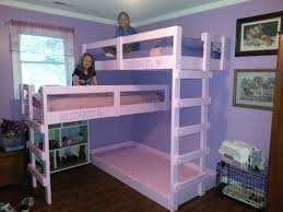 3 Person Bunk Bed Much Bigger Than Me Bunk Beds Pertaining To 3 Person Bunk