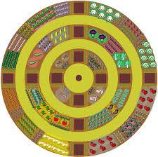 circular raised vegetable garden layout landscaping u0026 backyards