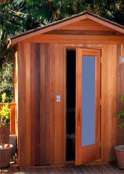 Outdoor Steam Rooms - outdoor steam room kit these outdoor sauna pictures will show