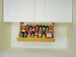 Kitchen Cabinet Spice Rack Organizer Amazon Com Ultimate Kitchen Storage Under Cabinet Spice Rack