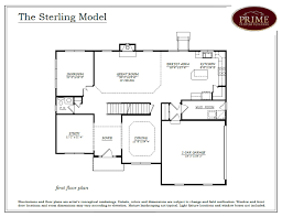 1 Car Garage Dimensions The Sterling Floor Plans In New Houses Available In Warwick Pa