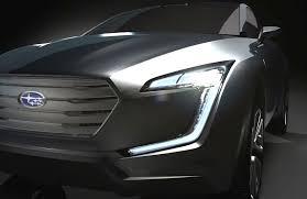 subaru forester concept subaru viziv concept preview car body design