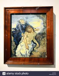 pietà 1890 ca by vincent van gogh in the vatican museum rome