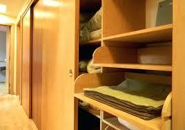 pull out closet storage closet storage wooden floor kitchen