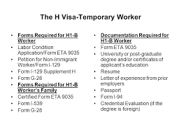 the h visa temporary worker ppt video online download