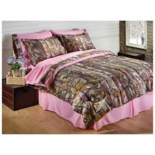 Camouflage Comforter Alluring King Size Pink Camo Bedding Stunning Home Designing