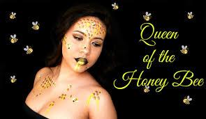 Bumble Bee Makeup For Halloween by Queen Of The Honey Bee Makeup Tutorial Youtube