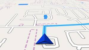 navigation map road map stock footage