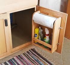 Cabinet Door Organizer Diy Furniture Diy Kitchen Cabinet Door Organizer Paper Towel