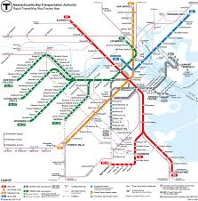 Manhattan Map Subway by Boston Subway Map With Streets My Blog