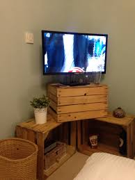 How To Build Wood Tv Stands Wooden Apple Crates As Tv Stand Pallet Tv Stands U0026 Entertainment