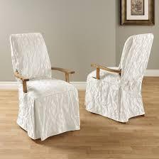 Slipcover Dining Room Chairs Matelasse Damask Dining Room Chair Slipcover Sure Fit Target
