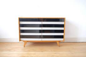 black u0026 white sideboard by jiri jiroutek for interier praha 1960s
