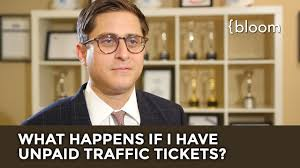 what happens if i have unpaid traffic tickets youtube