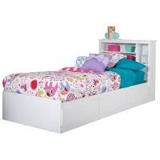 Fusion Transitional Kids Bed Single Pure White  Beds  Bed - Elegant non toxic bedroom furniture residence