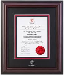 college diploma frame classic diploma frame fanshawe college diploma frames