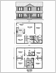 House Plans 2 Story Best Beautiful 2 Story House Plans with