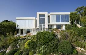 modern villa beautiful mediterranean modern villa on the french coast