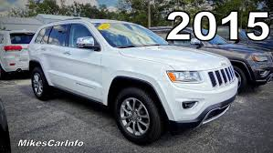 jeep grand cherokee limited 2015 jeep grand cherokee limited 4x2 youtube