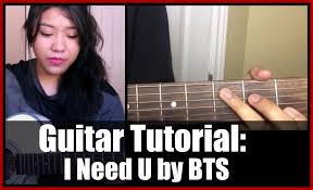 download mp3 bts i need you instrumental guitar tutorial beginner i need u by bts 방탄소년단 기타레손