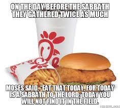 Chick Fil A Meme - chick fil a is modern manna presbyterian memes reformation memes