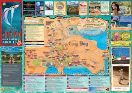 Map Of Virgin Islands Interactive Map Of Cruz Bay Us Virgin Islands Island Treasure Maps