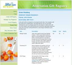 alternative wedding registry create fantastic wish lists with online gift registries techlicious