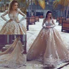 wedding gowns online 2018 new beading gown wedding dresses online with rhinestones