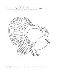 printable thanksgiving crafts template printable turkey template page fall kids thankful craft