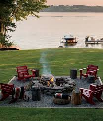 How To Build A Fire Pit In The Backyard by 40 Super Cool Backyards With Cozy Fire Pits Designers Interiors