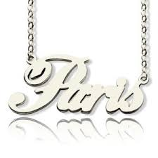 Customized Name Necklace Custom Nameplate Necklace Cheap