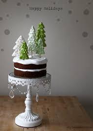 holiday winter wonderland cake u2014 style sweet ca