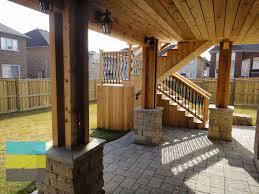 perdefanzin patio designs for walkout basement