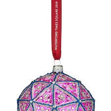 waterford times square replica ornament 2018 silver