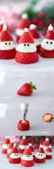 3 ingredient strawberry santas for christmas adorable christmas