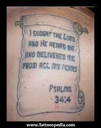 images bible verses tattoos