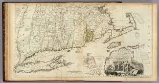 A Map Of Massachusetts by The Provinces Of Massachusetts Bay And New Hampshire Southern