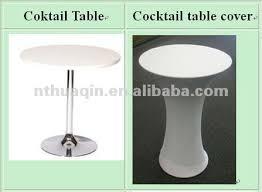 Led Bistro Table Led Light Spandex Cocktail Table Covers Cocktail Bistro Table