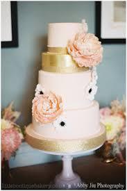 wedding cake london fulham palace blush peony little boutique