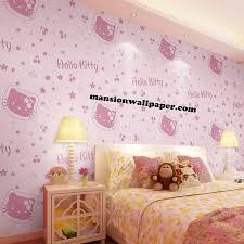 wallpaper dinding kamar vintage wallpaper dinding motif kamar anak hello kitty murah all