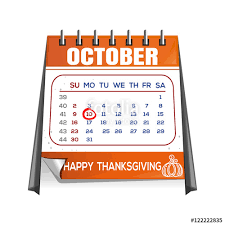thanksgiving calendar canada page quarterly calendar with