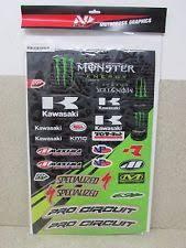monster energy sticker kit ebay