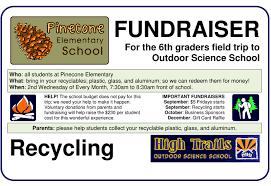 gift card fundraiser outdoor education school science cs california