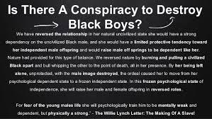 where are the black men
