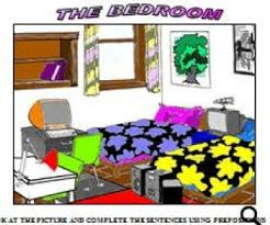 bedroom there is there are worksheet