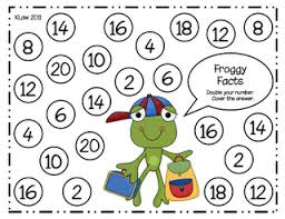 doubles fact here s a board for practicing doubles facts addition
