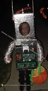 coolest homemade robot costume ideas for halloween