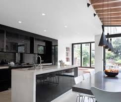 modern shaker kitchens lighting amazing kitchen design with two tone kitchen cabinets